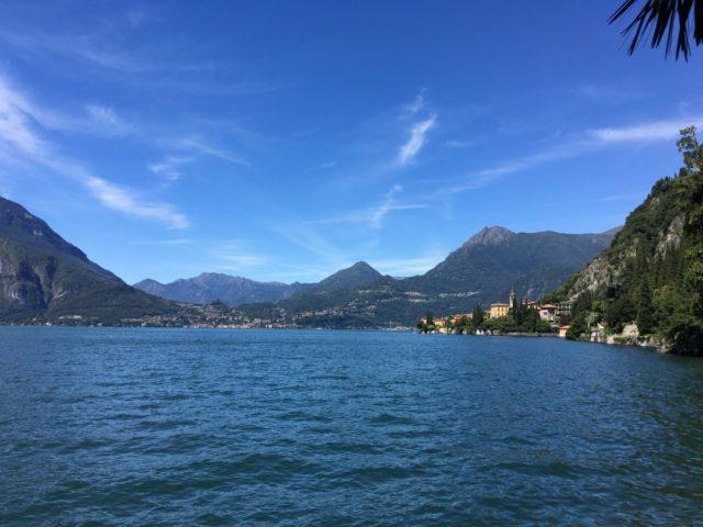 Comomeer Italië en de ferry naar Bellagio, Varenna, Menaggio